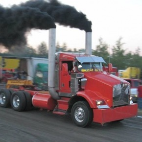 Red Big Rig