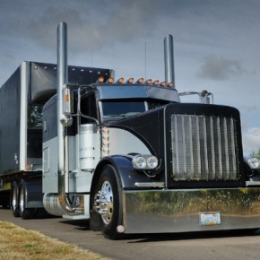 Peterbilt Trucks Largecar Truck Picture Chrome Shop