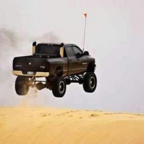Black Cummins Flying