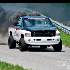 Dodge Ram Cummins Drag Truck
