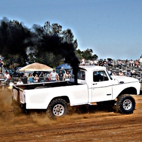 Old Dodge Sleed Puller Rollin Coal