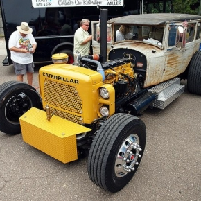 CAT Diesel Rat Rod