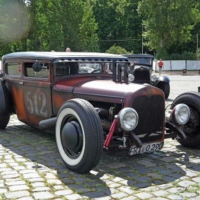 Sick Diesel Rat Rod Truck Picture