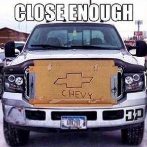 Fake Chevy
