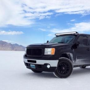 2013 Sierra 3500HD Bonniville Salt Flats