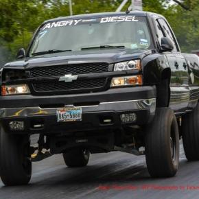 duramax diesel truck drag racing