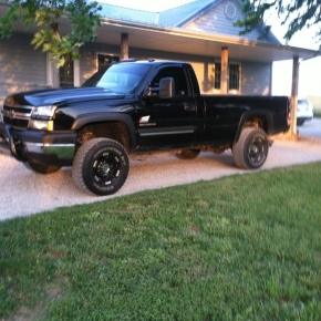 Black Duramax at Home