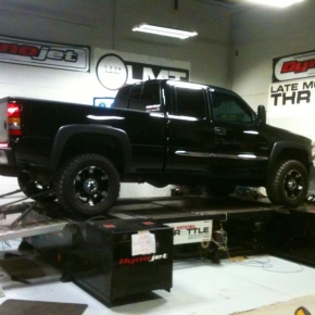 Black Duramax Being Tested