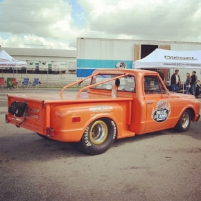 Orange Duramax Diesel