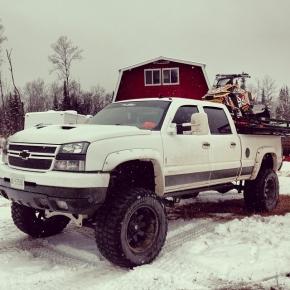 Duramax Sled Truck Snowmobile