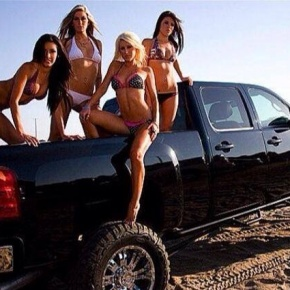 Four Girls and a Truck