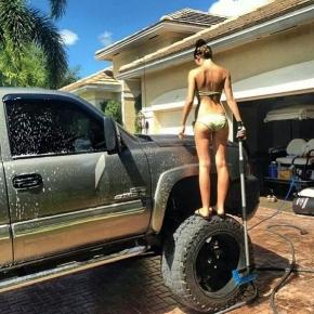 Bikini Truck Wash Chevy