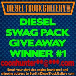 Diesel Swag Pack Giveaway #1 Diesel truck Gallery
