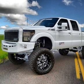 white-powerstroke-flexin