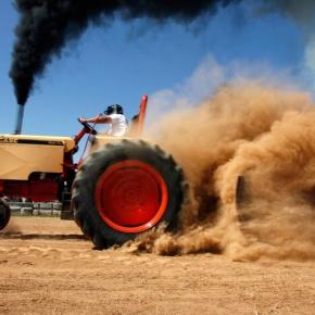 Tan Tractor