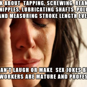 No Sex Jokes Allowed