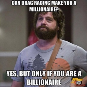 Get Rich On Drag Racing