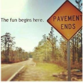 Diesel Truck Meme – Fun Begins Where the Road Ends