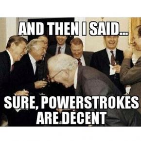 Power Stroke Truck Meme