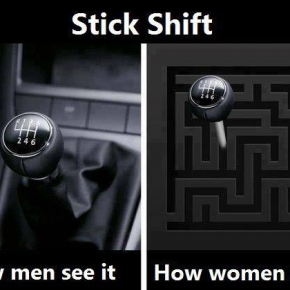 how women see manual transmissions