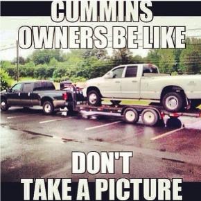 No Pics Please Truck Meme
