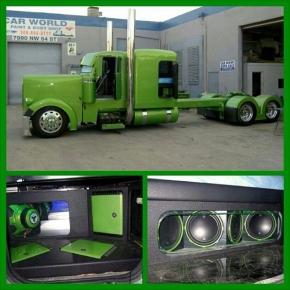 Green Big Rig