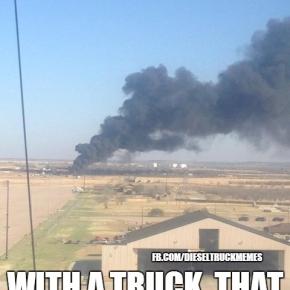 Smoking Truck