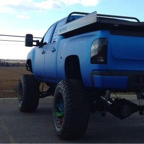 Blue Duramax Diesel