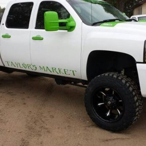 White and Green Duramax
