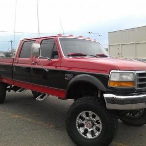 LiftedFord Powerstroke Truck