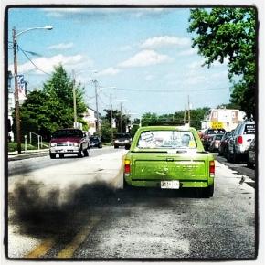 Green VW