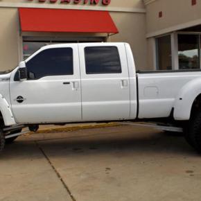 Long White Truck