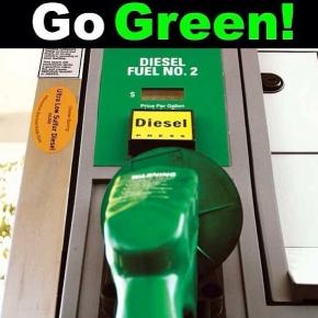 Go Green Diesel Truck Meme