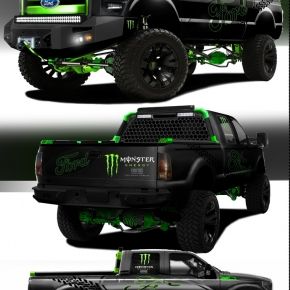 lime-and-black-ford