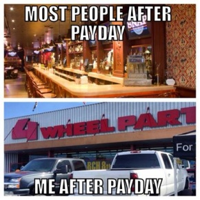Payday For Parts