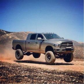 Cummins baja style diesel truck