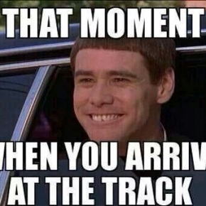 Smile At The Track