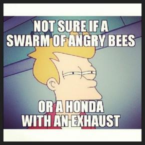 Honda Exhaust Truck Meme