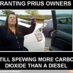 Prius Owners Truck Meme